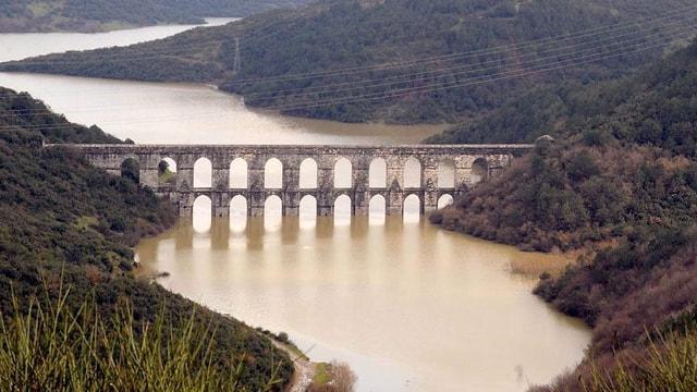 İstanbul'da barajlar yaza hazır! Yüzde 12'si boş