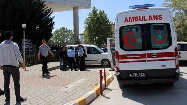 Hastane müdürü, silahlı saldırıda yaralandı