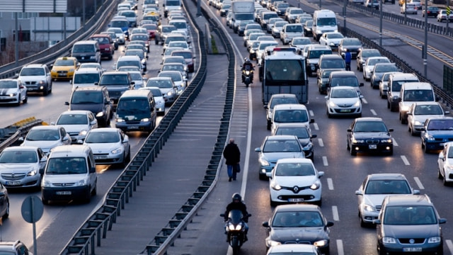 İşte İstanbulun trafik yoğunluğundaki artış!