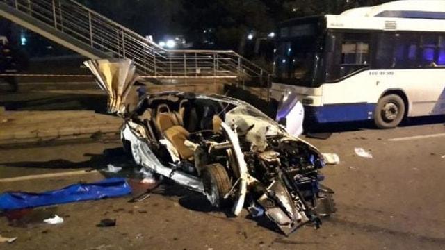 Ankarada katliam gibi kaza!