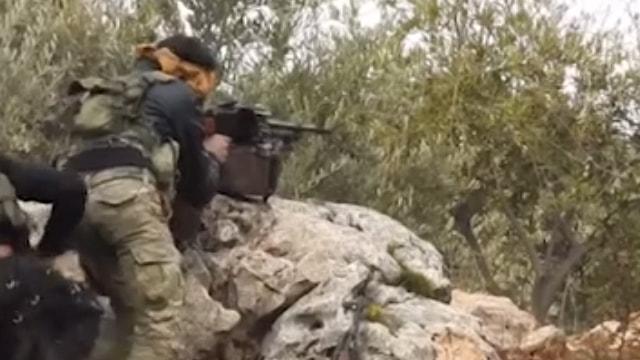 TSK ve ÖSO, Afrinde teröristlerin Kilisle sınır temasını kesti