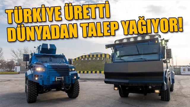 Türkiye üretti, dünyadan talep yağıyor!