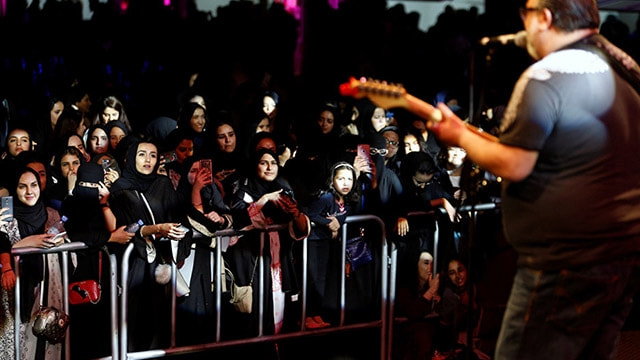 Suudi Arabistanda ilk caz festivali