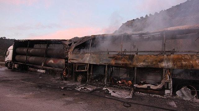 Çorumda otobüs kazası: 13 ölü, 18 yaralı