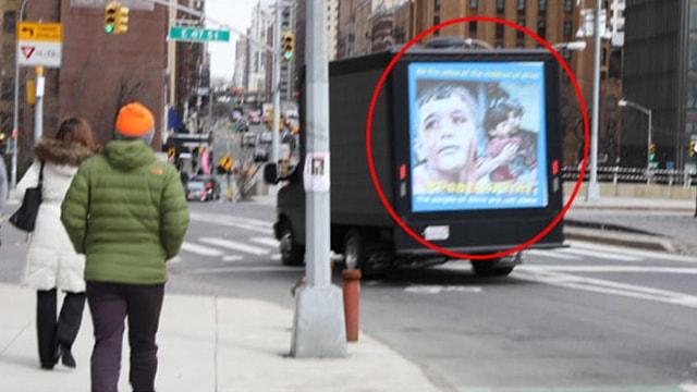 New York sokaklarında akıl almaz Afrin yalanı!