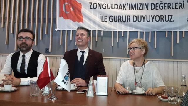ZONDEF'ten Diriliş Karataya tam destek...