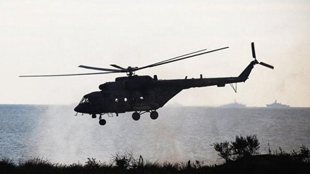 Türk helikopterine uyarı ateşi iddiasınayalanlama!