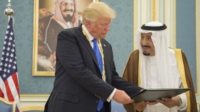 Trump istedi, Suudi kral evet dedi!