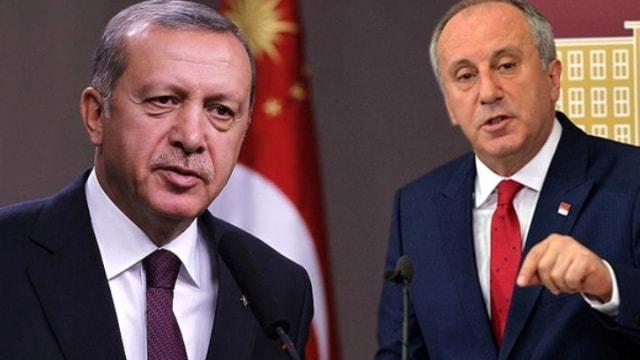 Erdoğan: İnce ile ekranda tartışmam!