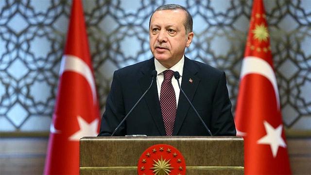 Erdoğan: Tüm saldırılara rağmen büyümeye devam