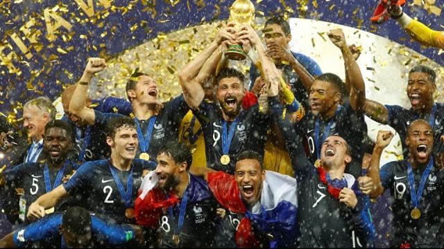 2018 Dünya Kupasının sahibi Fransa oldu