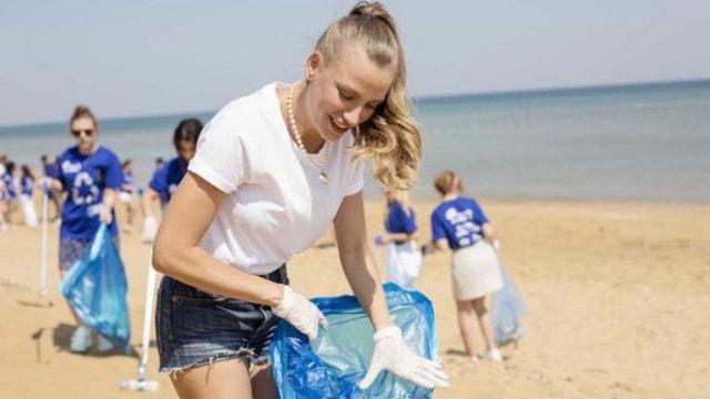 Serenayın kıyı temizliği