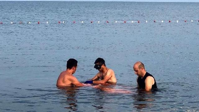 Gemlikte denizde erkek cesedi bulundu