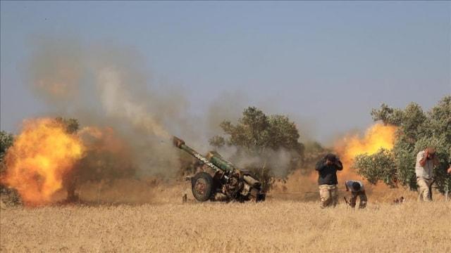 Esed rejiminden Hama'ya saldırı: 2 ölü