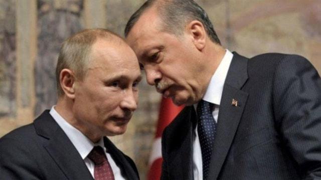 Erdoğan ile Putin arasında kritik görüşme