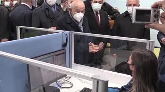 Uludağ Elektrik Kars Çağrı Merkezinin yeni binası hizmete açıldı