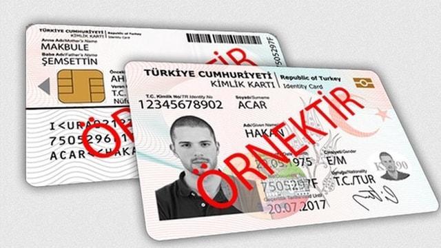 Çipli kimlik kartı başvuruları yeni yılda tüm illerde başlıyor
