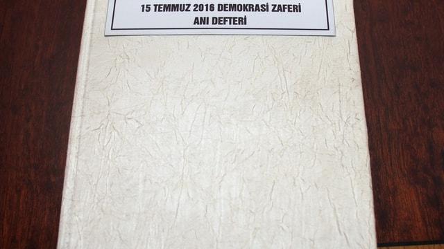 Yozgat'ta demokrasi nöbeti anıları kitaplaştırıldı