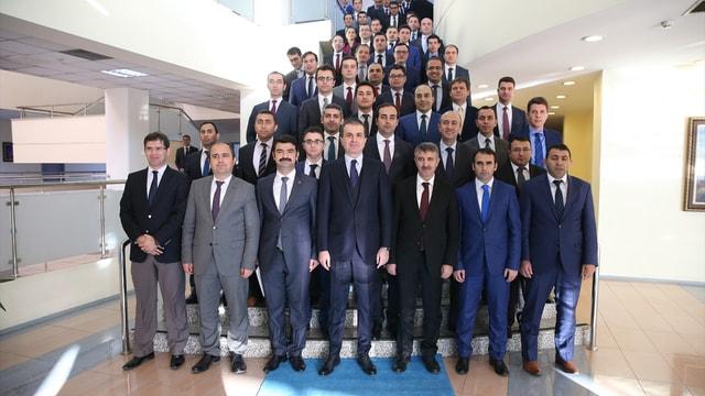 AB Bakanı Çelik kaymakam adaylarıyla buluştu