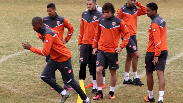 Adanaspor, Gençlerbirliği maçının hazırlıklarını sürdürdü