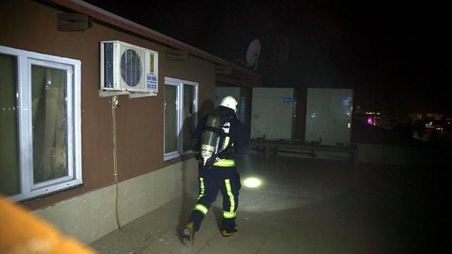 Antalya'da alışveriş merkezinde yangın