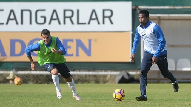 Antalyaspor gol çalıştı
