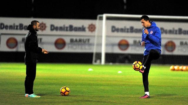 Antalyaspor'da Medipol Başakşehir maçı hazırlıkları