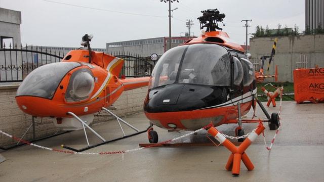 Balıkesir'deki yerli helikopter projesi