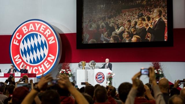 Bayern Münih'te kulüp başkanlığına Hoeness seçildi