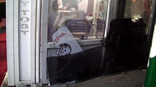 Bursa'da spor kulübüne saldırı güvenlik kameralarında