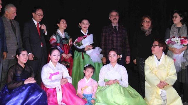 Çankırı'da Kore Geleneksel Müzik Konseri düzenlendi