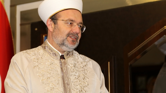 Diyanet İşleri Başkanı Görmez Adana'da