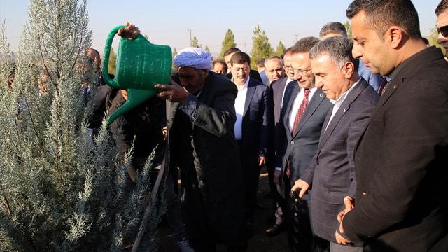 Diyarbakır'da 15 Temmuz şehitleri için hatıra ormanı