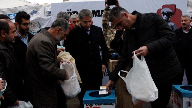 Elazığ'da Çöp Olmasın, Şifa Olsun projesi