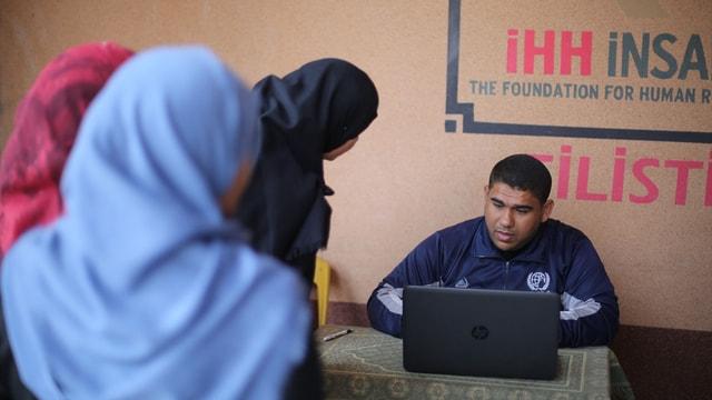 Gazze'deki yardım faaliyetleri