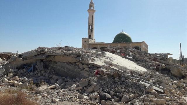Halep'te insanlar katlediliyor