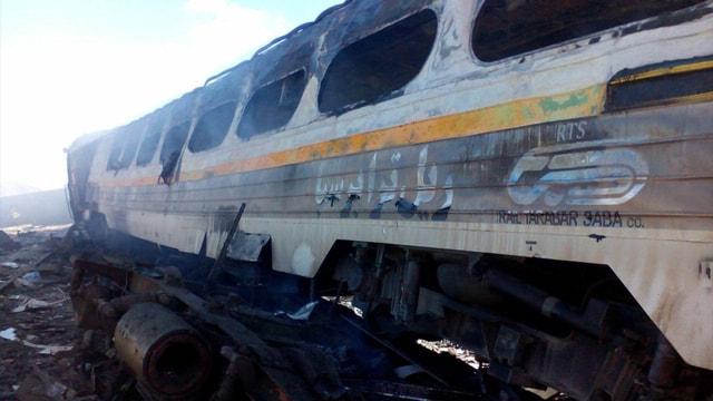İran'daki tren kazası