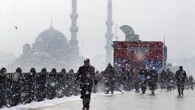 Meteoroloji uyardı: Pazar soğuk Çarşamba kar geliyor