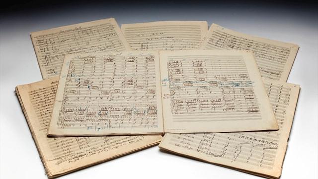 Mahler'in el yazımı notaları rekor fiyata satıldı