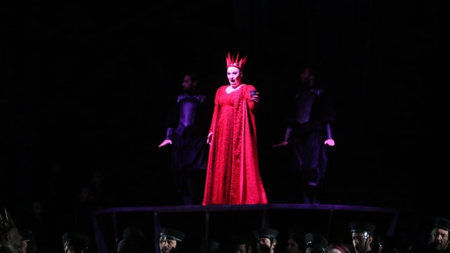 MDOB, Macbeth operasının prömiyerini sahneledi
