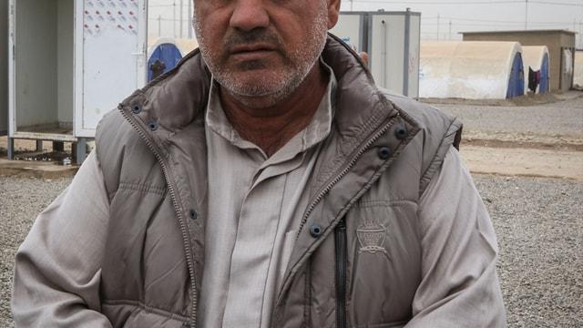 Musul'dan kaçan sivillerin kış şartlarıyla mücadelesi