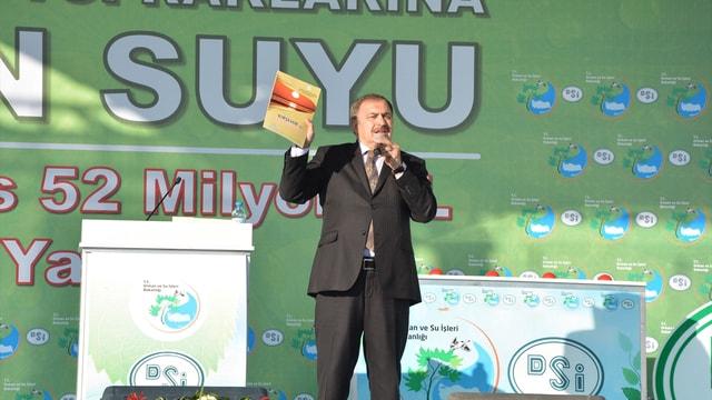 Orman ve Su İşleri Bakanı Eroğlu Kırşehir'de