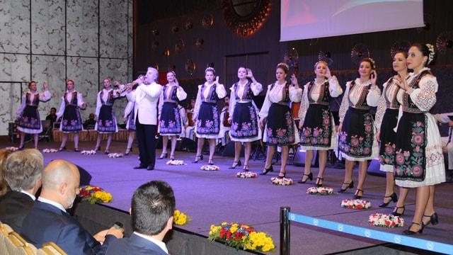 Romanya Milli Günü resepsiyonu