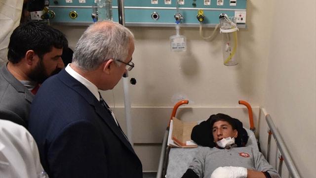 GÜNCELLEME - Şanlıurfa'da okul servisi devrildi: 26 yaralı