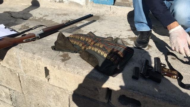Şanlıurfa'da uyuşturucu ve silah operasyonu