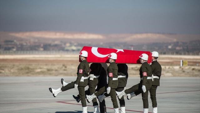 Gaziantep'te Şehit Jandarma Uzman Çavuş Kader Acar için tören düzenlendi