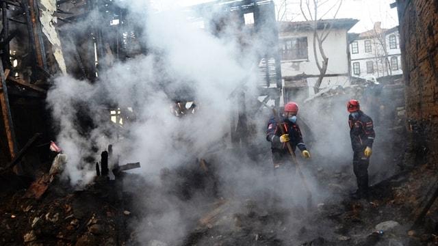 GÜNCELLEME - Sinop'ta yangın