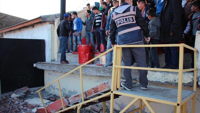 Sivas'ta amatör maçta kavga