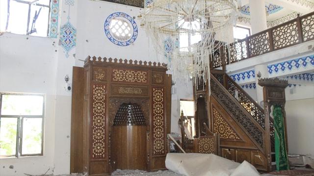 Terör örgütü camileri karargah gibi kullanmış