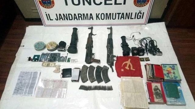 Tunceli'de teröristlerin kış üslenmesine yönelik operasyon